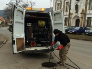 Čištění kanalizace raději přenechte profesionálům