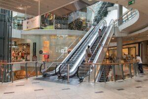 V nákupních centrech je riziko požáru velice výrazné